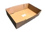 Kødkasse 588x375x146mm bund 20kg brun