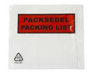 Packsedelskuvert C7 med tryck