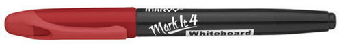 Whiteboardpen MARVY Markit Rund Rød